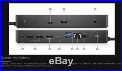 Dell WD19TB Thunderbolt USB-C Docking Station Port Replicator 180w Power Supply