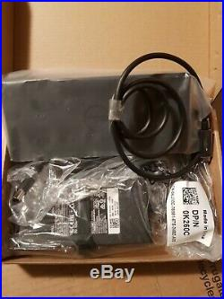 Dell WD19-130w 4K Docking Station USB-C K20A 1887B
