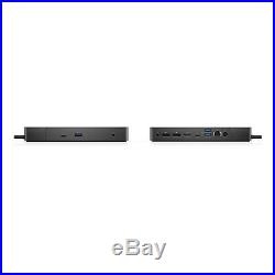 Dell WD19 180W Docking Station with USB-C, HDMI and Dual DisplayPort (Black)