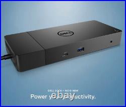 Dell WD19 Docking Station USB-C, Dual Displayport, HDMI, 4k, 180w PSU