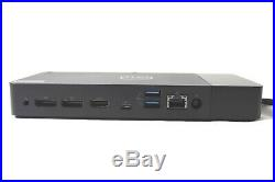 Dell WD19 USB-C Docking Station K20A with 180W Adapter