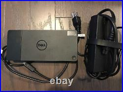 Dell WD19 USB Type-C Docking Station. Black K20A001 K20A AC Supply Included 130w