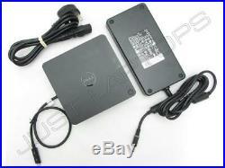 Dell XPS 15 9550 9560 USB-C Docking Station Port Replicator with 240W PSU