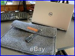 Dell xps 2 in 1 Laptop with D6000 USB C Docking Station and extra PSU