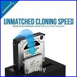 External Hard Drive Docking Station with Cloner Duplicator Function USB To SATA