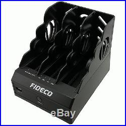 Fideco Tri-Bay USB 3.0 SATA HDD HUB Hard Disk Clone Docking Station with Clone