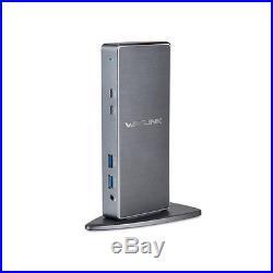Genuine Wavlink USB 3.0 HDMI DVI RJ45 Port Replicator Universal Docking Station