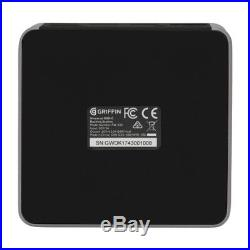 Griffin USB-C Docking Station space grau PW-339-SGY-EU