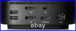HP 5TW10UT#ABA USB-C Universal Dock G5 Docking Station Black