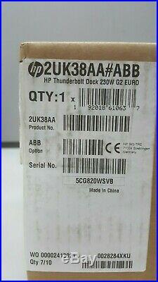HP Dockingstation 230W USB-C THUNDERBOLT DOCK G2 EU | Usb Docking