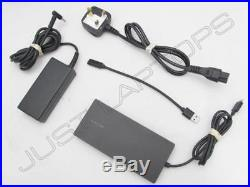 HP Elite USB-C / USB 3.0 Docking Station Port Replicator with Display Inc 65W PSU