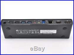 HP HSTNN-IX06 3005PR USB 3.0 Port Replicator Docking Station NO AC Adapter
