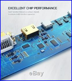 HUB Adapter USB-C 3.0 HDMI Audio Converter Mac Book Pro Dock Station Card Reader