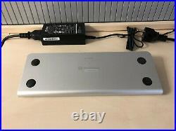 ICY BOX IB-DK2801-TB3 Thunderbolt 3 Type-C DockingStation Aluminium MiniDP