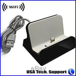 IPHONE DOCK Spy Camera WiFi HiddenRecording Remote Internet USB Charging Station