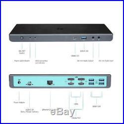 I-Tec ITEC CADUAL4KDOCKPDUK USB 3.0/ USB-C DUAL UKVER DOCKING STATION +