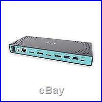 I-Tec USB 3.0 / USB-C 5K Universal Dual Docking Station, CADUAL4KDOCK D