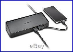 Kensington SD3650 Universal USB 3.0 Mountable Docking Station