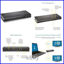 Kensington SD4600P USB-C Docking Station with Power Delivery Charging for