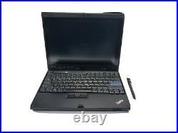 LENOVO ThinkPad X200 12.1 Tablet Win10 UltraBase Docking station Pen 80gb 6gb