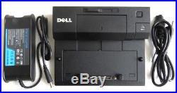 LOT Dell Latitude E Series PR03X Docking Station E-Port with 130 Watt AC USB 3.0