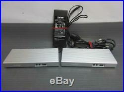 LOT of 2-CALDIGIT USB-C Docking Station Ethernet HDMI D-Port with1 adapter TESTED