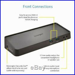 Laptop Docking Station Kensington SD3600 USB 3.0 HDMI USED