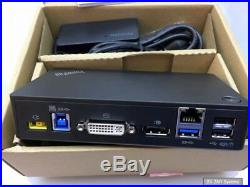 Lenovo 03X7130 ThinkPad USB 3.0 Pro Docking Station, Dock mit Netzteil, 40A70045