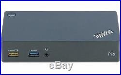 Lenovo 40A70045DE ThinkPad USB 3.0 Pro Dock Docking Station