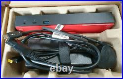 Lenovo 40AC ThinkPad Thunderbolt 3 USB-C Dock Docking Station Free P&P