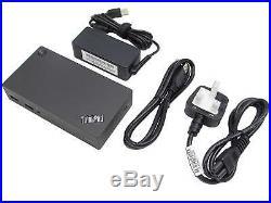 Lenovo 40a80045uk Thinkpad Usb 3.0 Ultra Slim System Docking Station Black