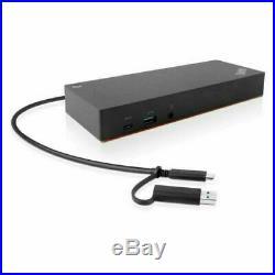 Lenovo ThinkPad 40AF0135 Hybrid USB-C with USB-A Dock Docking Station