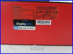 Lenovo ThinkPad Hybrid USB-C with USB-A Docking Station 40AF DUD9011D1, Open Box