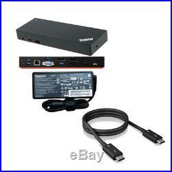 Lenovo ThinkPad Thunderbolt 3 Dock inkl. 135W Netzteil inkl. Thunderbolt 3 Kabel