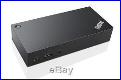 Lenovo ThinkPad USB-C Dock Docking Station 90 Watt GigE 40A90090EU