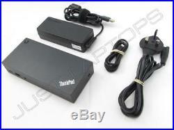 Lenovo ThinkPad USB-C Dock Docking Station Inc PSU 40A90090UK 03X7194 DK1633