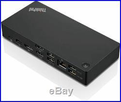 Lenovo ThinkPad USB-C Dock Gen2 4K Display Docking Station USB TypeC HDMI DP