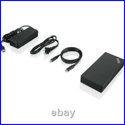 Lenovo ThinkPad USB-C Dock Gen 2 Docking Station Black 40AS0090UK P&P INCL