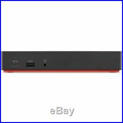Lenovo ThinkPad USB-C Dock Gen 2 EU Lade-/Dockingstation Schwarz (40AS0090EU)