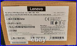 Lenovo ThinkPad USB-C Docking Station 2. Gen mit Garantie Dezember 2020