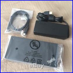 Lenovo ThinkPad USB-C Docking Station / Port Replicator 40A90090UK
