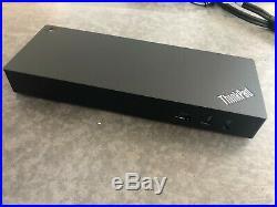 Lenovo ThinkPad Workstation Thunderbolt 3 Dock 40AN0230EU incl. 230W Netzteil