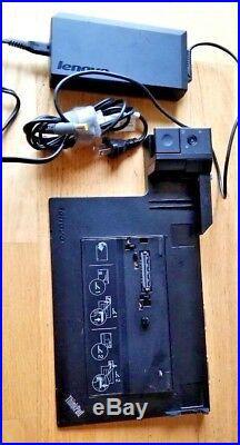 Lenovo Thinkpad 433835U Mini dock Docking Station with USB 3.0 W520 W530 170w ac