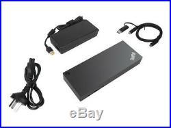 Lenovo Thinkpad Hybrid USB-C With USB-A Dock, Docking Station 2x HDMI/ 2x DP