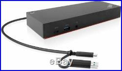 Lenovo Thinkpad Hybrid USB-C With Usb-A Dock Docking Station USB P/N40AF0135UK