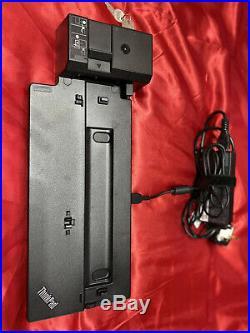 Lenovo Thinkpad Ultra Laptop Docking Station 40AJ USB 3.1 USB Type-C HDMI Used