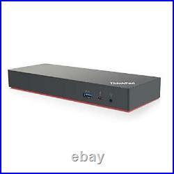 Lenovo USA 40AN0135US USB ThinkPad Thunderbolt 3 Dock Gen 2 135W, Black