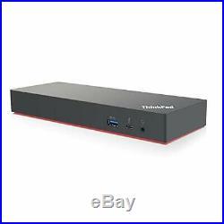 Lenovo USA ThinkPad Thunderbolt 3 Workstation USB Dock with 230w and 65w AC I