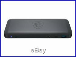 MSI USB-C Docking Station Docking station USB-C 3.2 HDMI 2 x DP GigE 001P13-004
