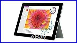 Microsoft Surface 3 10.8 128GB + 4G Tablet, Docking Station, Keyboard and Pen